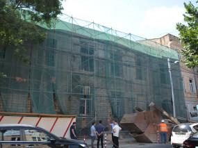 N4 და N144 საბავშვო ბაღების შენობების გამაგრება მიმდინარეობს.